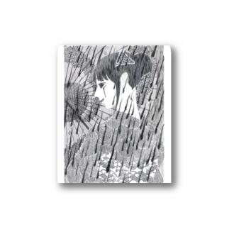 血雨の後 Stickers