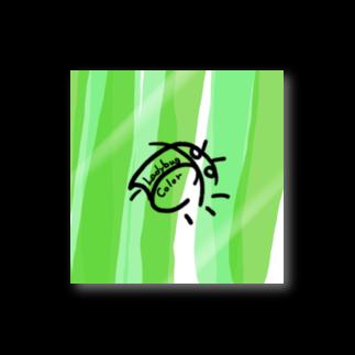 LadybugcolorのLadybugcolorロゴクージー(ミドリ) Stickers