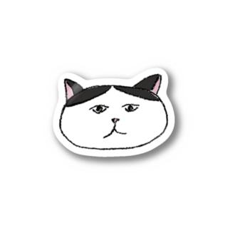 ハチワレさん Stickers