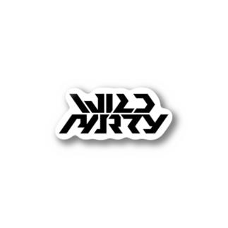 WILDPARTY Logo Sticker