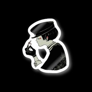 さびぬき。のレトロ男子 Stickers