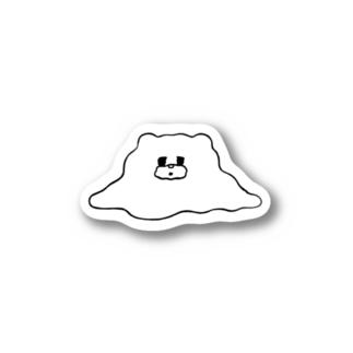くま(とけ) Stickers