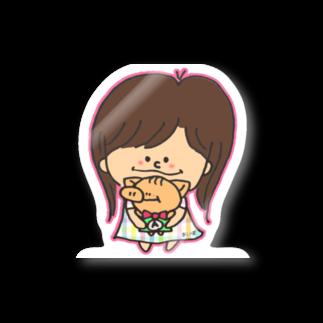 にゃりぶぅと仲間たちのあいぽとにゃりぶぅ Stickers
