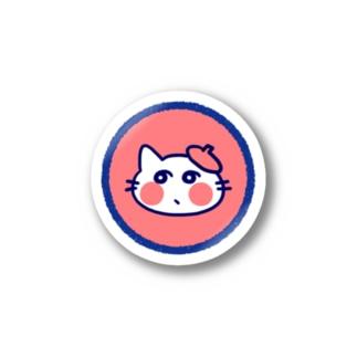 レトロ色ねこ Stickers