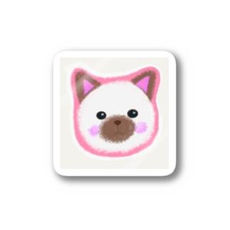 ミーコちゃん Stickers