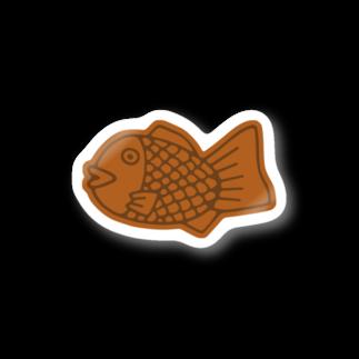 犬田猫三郎のたい焼き Stickers