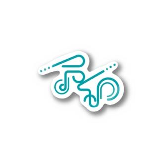 令和_青緑 Stickers