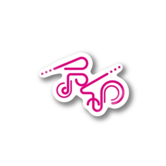 令和_ピンク Stickers