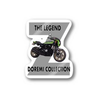 Doremi 900RS Black & Green Stickers