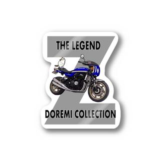 Doremi 900RS Blue Cat Stickers