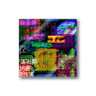 TYPE-1QE Stickers