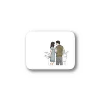 500日サマー Stickers
