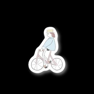古川 つかさのチャリガール Stickers