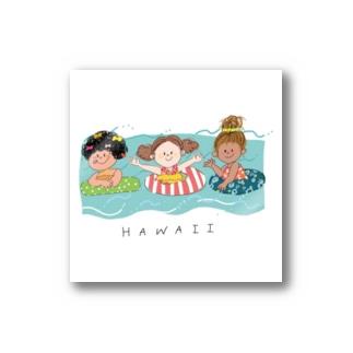ハワイ Stickers