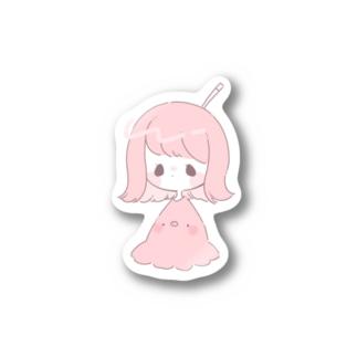タコウインナーちゃん Stickers