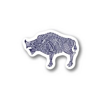 亥 Stickers