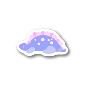 ステゴサウルス Stickers
