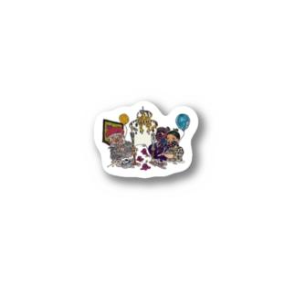 shirokuma  emotion Stickers