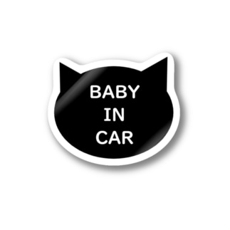 BABY IN CAR(カーステッカー) Stickers