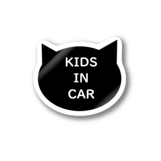 KIDS IN CAR(カーステッカー) Stickers