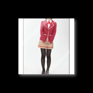 cosponeyの緒方理珠コスプレ衣装とウィッグオーダーメイド Stickers