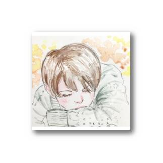 眠る少年 Stickers