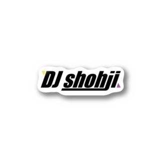 DJ shohji Stickers