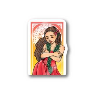 小さなALOHA Stickers