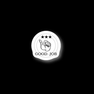 rokugatsunoumiのGOOD JOB Stickers