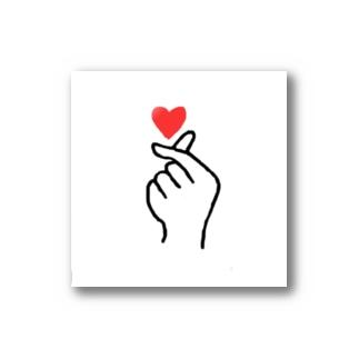 指ハート♡saisai Stickers