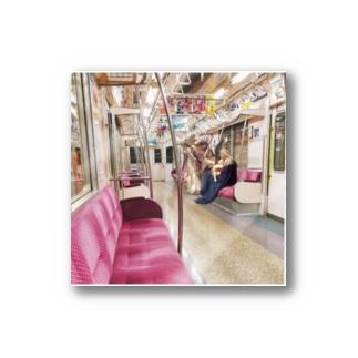 電車天使 Stickers