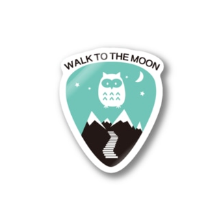WALK TO THE MOON Stickers