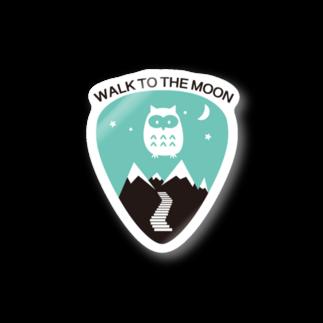 12のWALK TO THE MOON Stickers