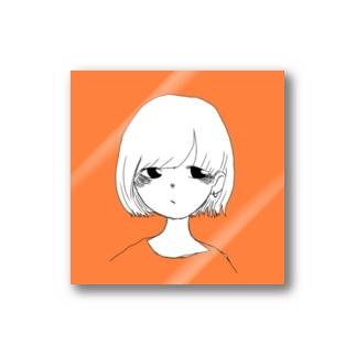 女の子 Stickers