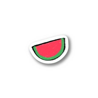 ガリガリスイカ Sticker