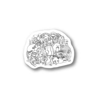 ともだち Stickers