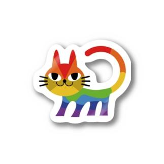 nijineko#2 Stickers