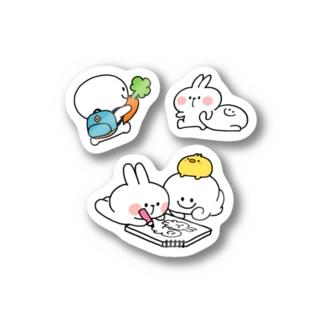Spoiled Rabbit Assorted / あまえんぼうさちゃん アソート Stickers