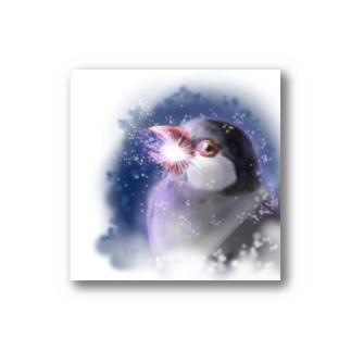 ビームチャージ文鳥 Stickers