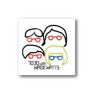 7030ナオミオ with WADE WATTSグッズ Stickers
