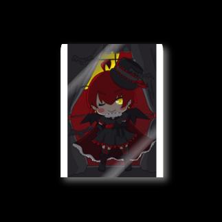 銀猫@絵垢+ご依頼受付中の月夜と吸血鬼 Stickers
