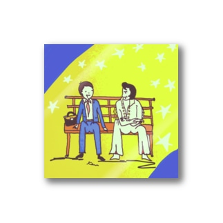 elvis and me Stickers