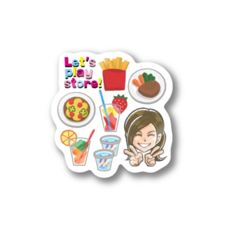 Let's play store! Sticker