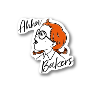 Ahhn Bakers Stickers