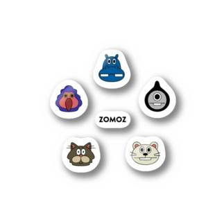 ZOMOZフェイス (ステッカー) Stickers