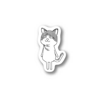 猫。 Stickers