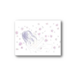 眠れる花の少女 Stickers