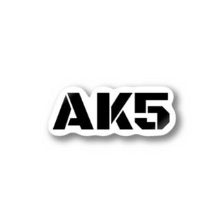AK5ロゴ Stickers