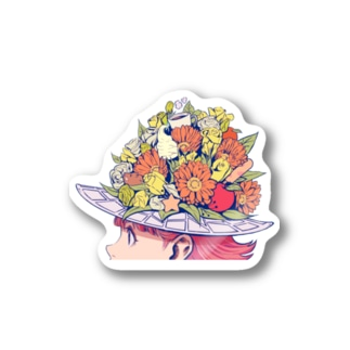 flower girl Stickers