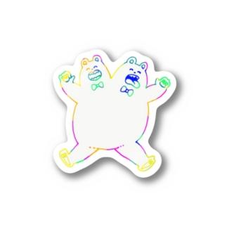 仲良くズ Stickers